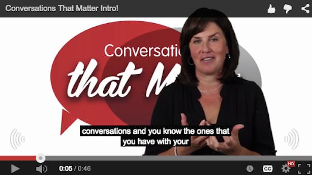 Teri Conrad Conversations That Matter