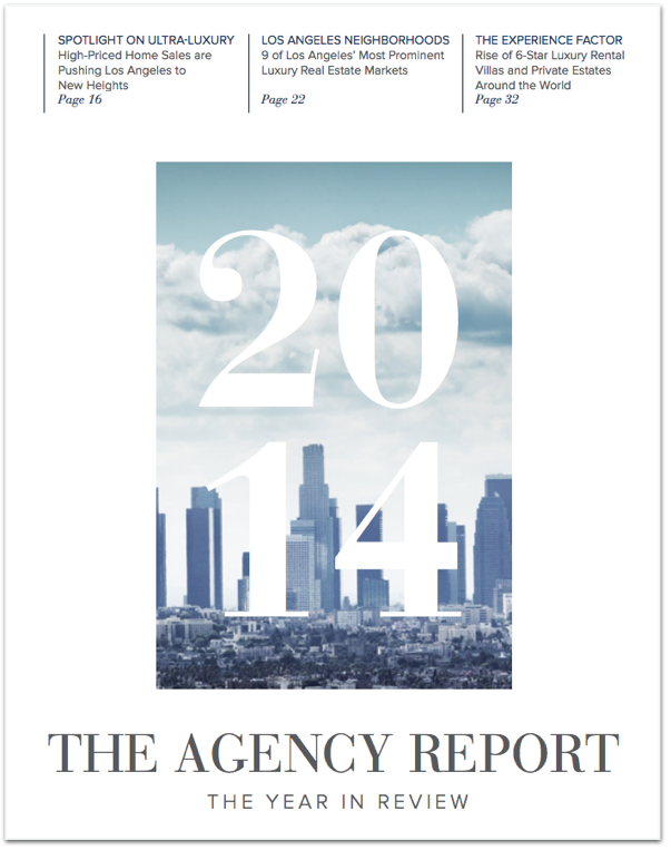 The Agency Year in Review report
