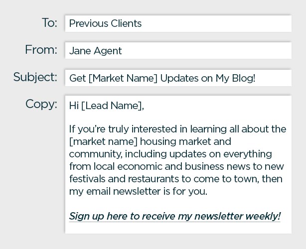 drip real estate email marketing