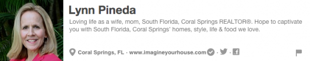 Lynn Pineda Pinterest Bio