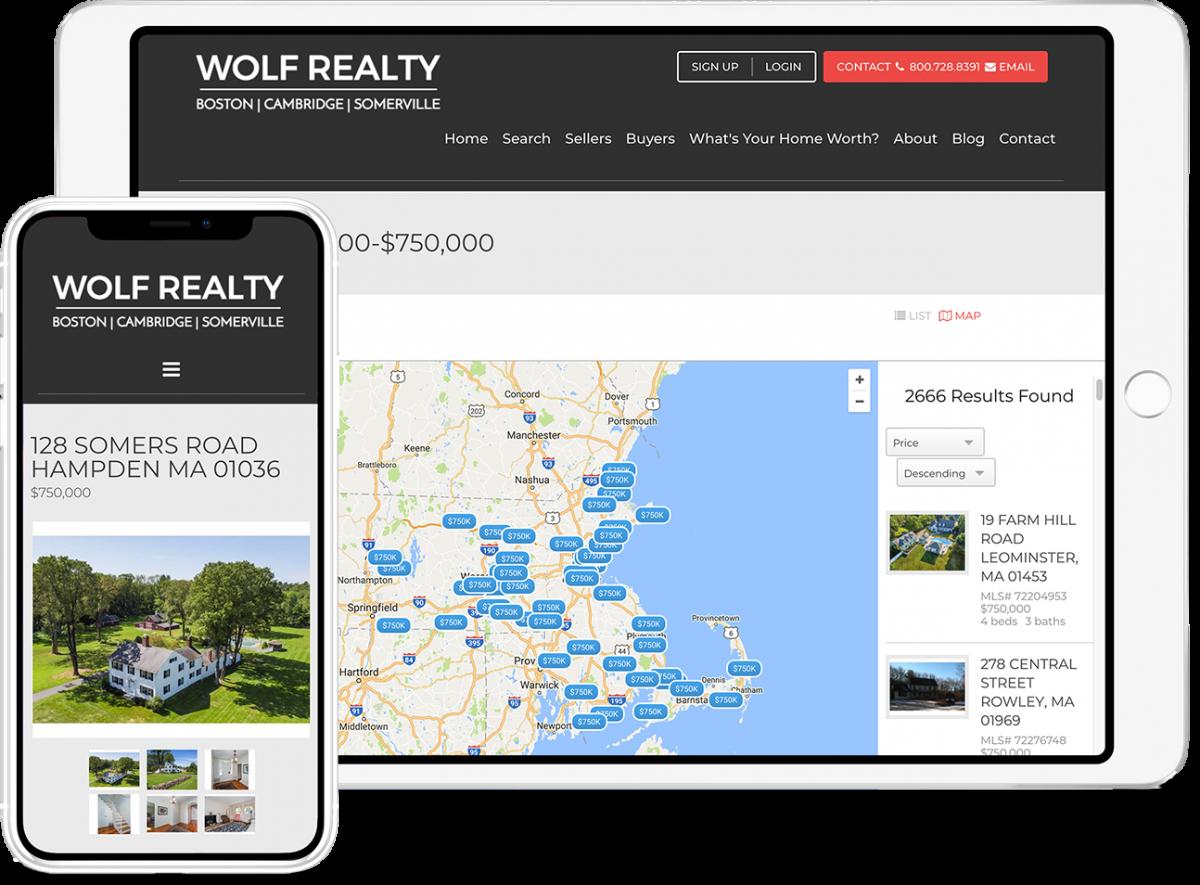 Placester's real estate broker websites