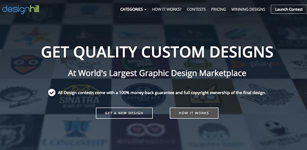 graphic design tools DesignHill