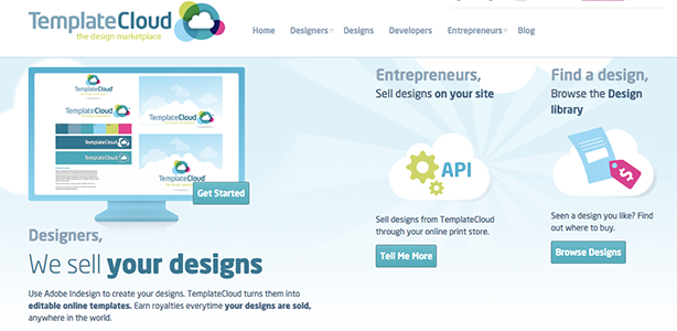 graphic design tools TemplateCloud