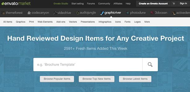 graphic design tools Graphic River Envato Market