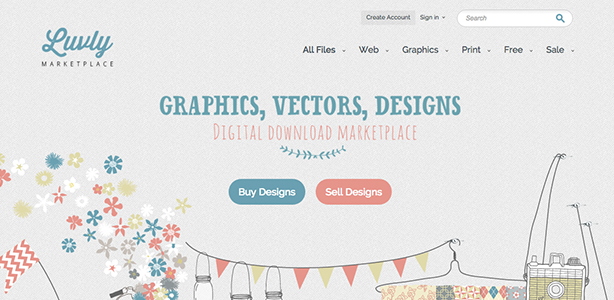 graphic design tools Luvly Marketplace