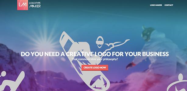 graphic design tools Logotype Maker
