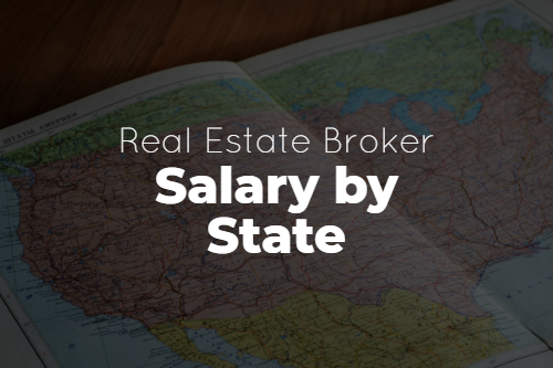 Real Estate Broker Salary by State