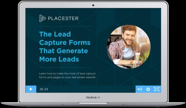 real estate website lead capture forms