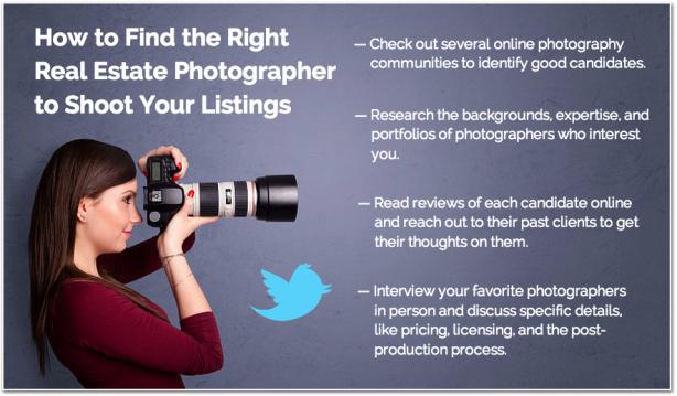 Tips hiring real estate photographer home listings