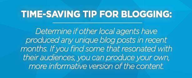 real estate blogging tips