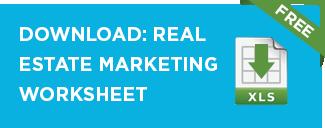 Real estate marketing planning worksheet