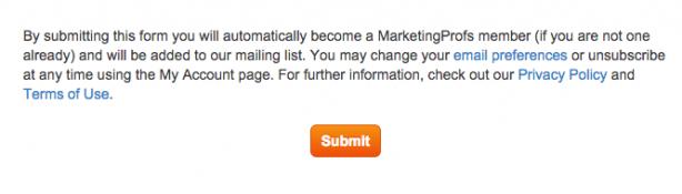 marketingprofs optin
