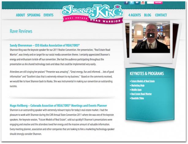 Shannon King real estate speaker