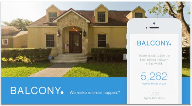 Balcony real estate referral app