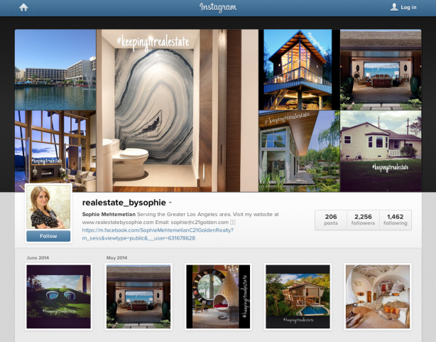 Sophie Mehtemetian's Instagram profile