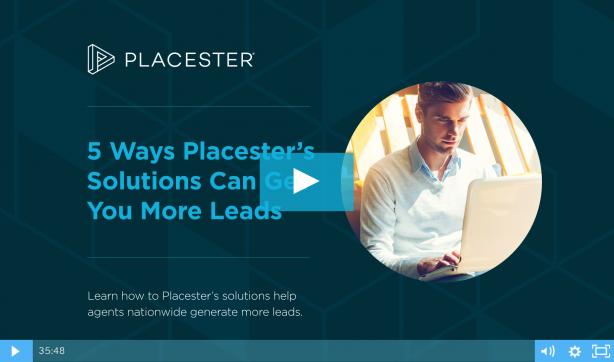 Placester real estate lead generation webinar