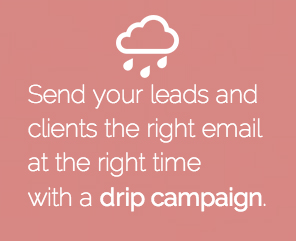 Drip campaign email