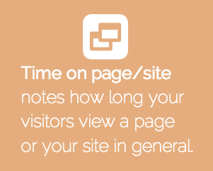 Time on page website