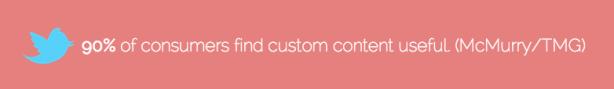 Consumers custom content blogging McMurry TMG