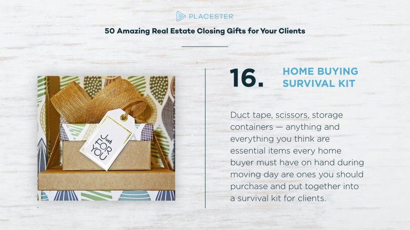 50 Amazing Real Estate Gift Closing Ideas Placester
