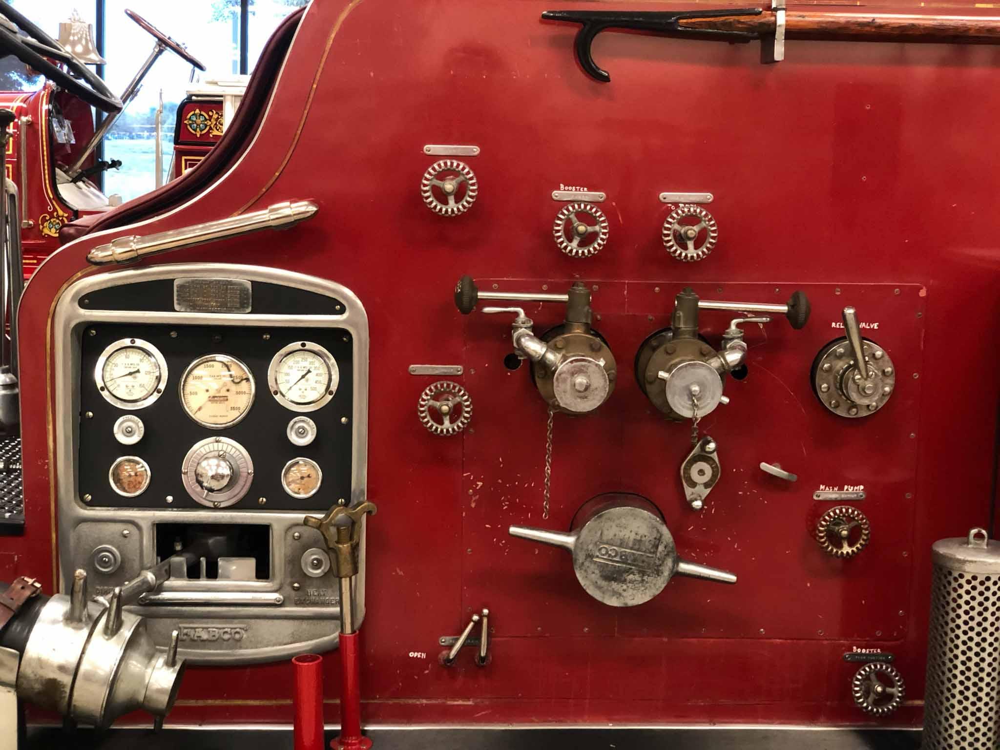 Fire Truck Instrument Panel