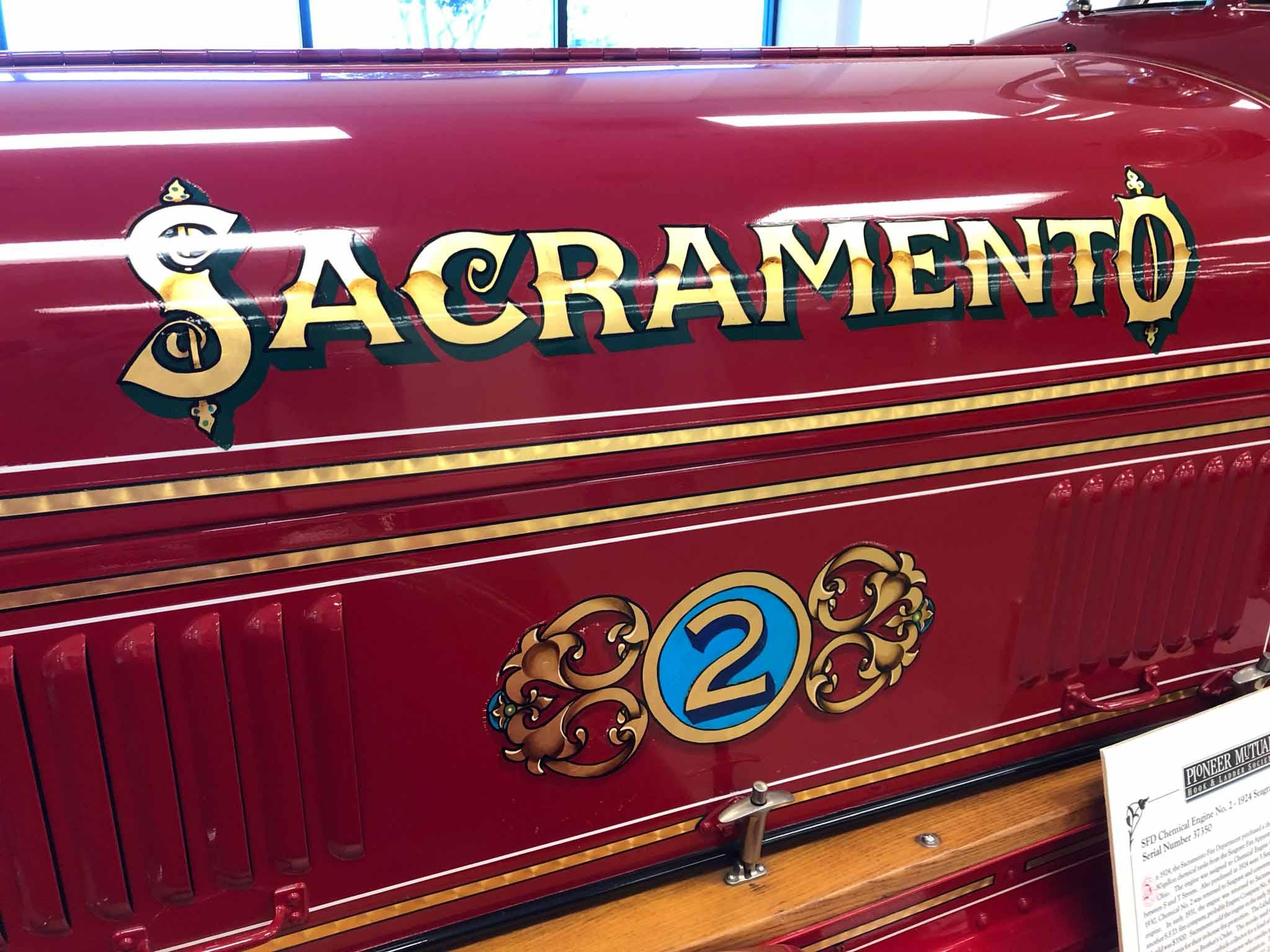 Sacramento Fire Truck