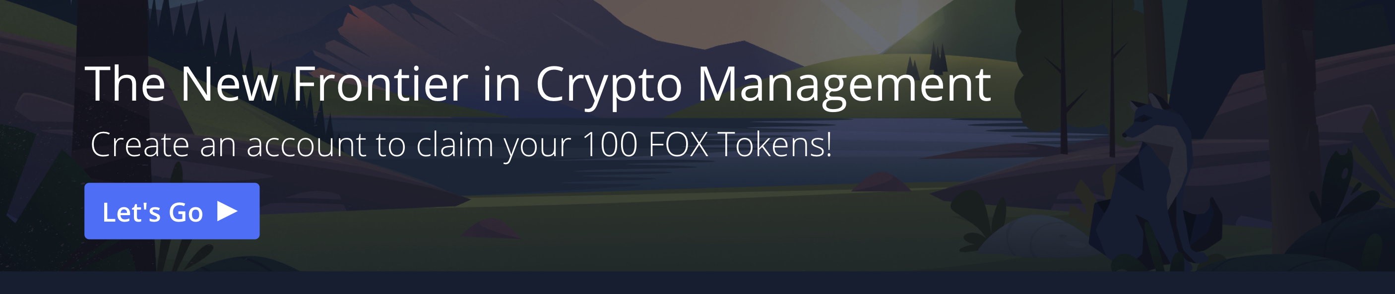 The new frontier in crypto management. Create an account to claim your 100 FOX tokens at ShapeShift.com
