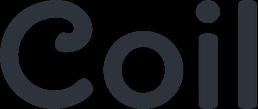 Coil black logo