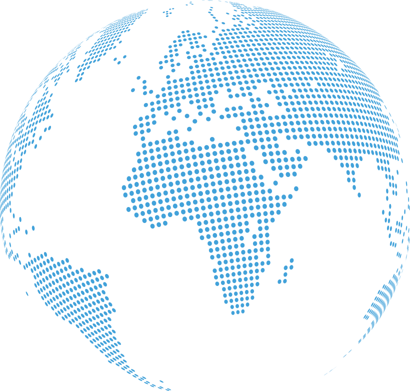 Stronghold light blue globe
