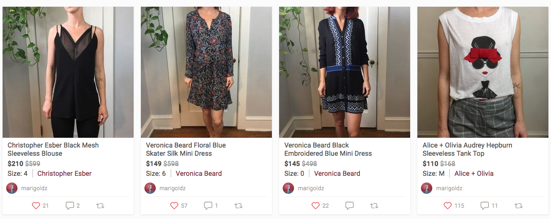 Chelsea Hondros' Poshmark profile with women's fashion