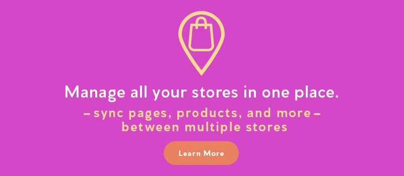 Manage all your stores
