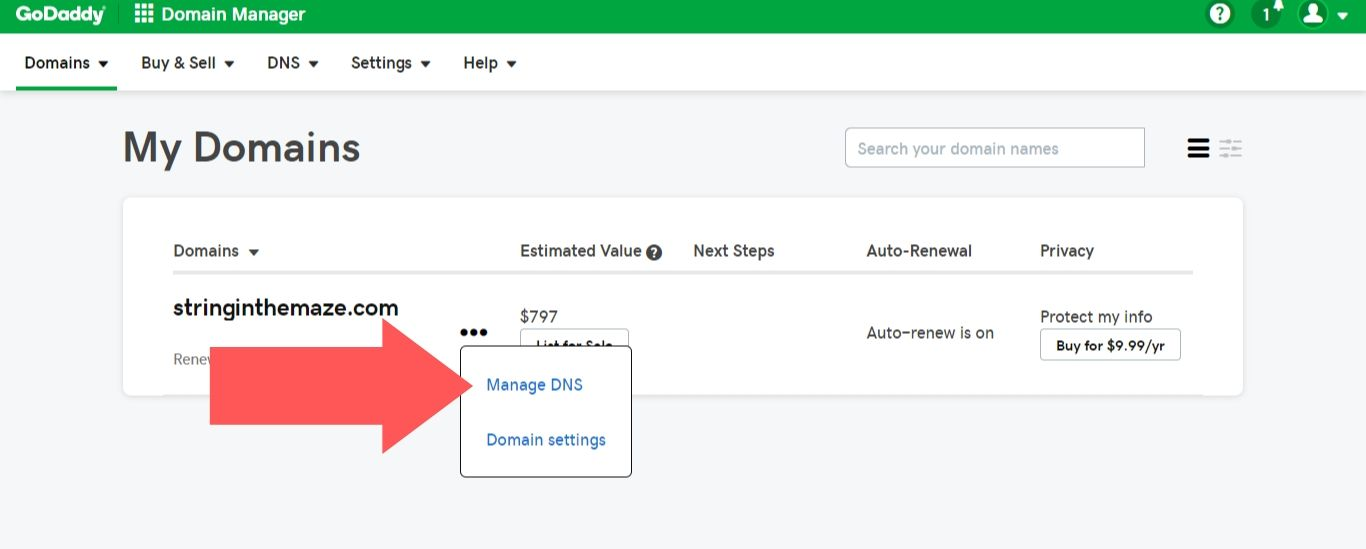 how to connect your domain name to your website