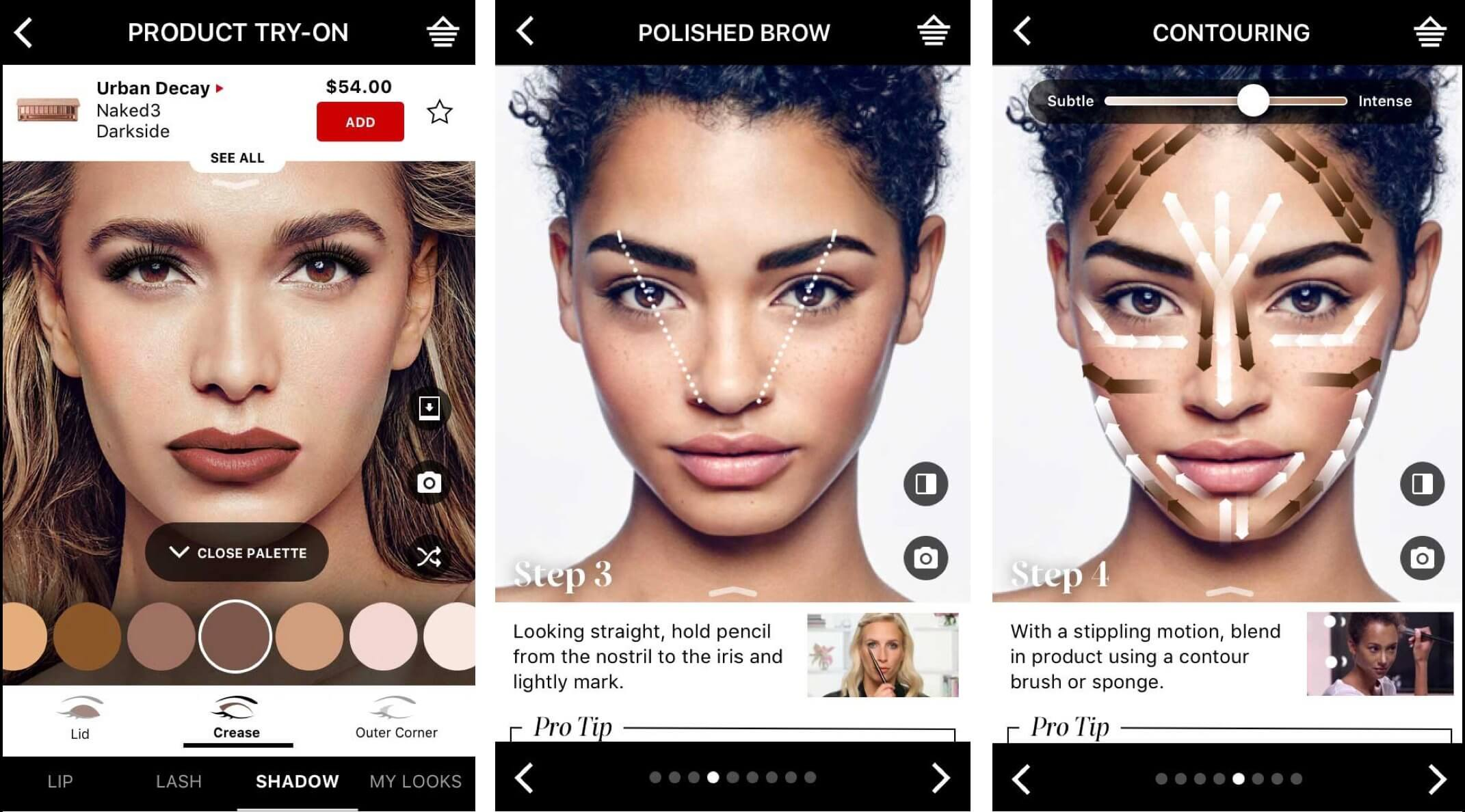 Sephora's Virtual Artist app
