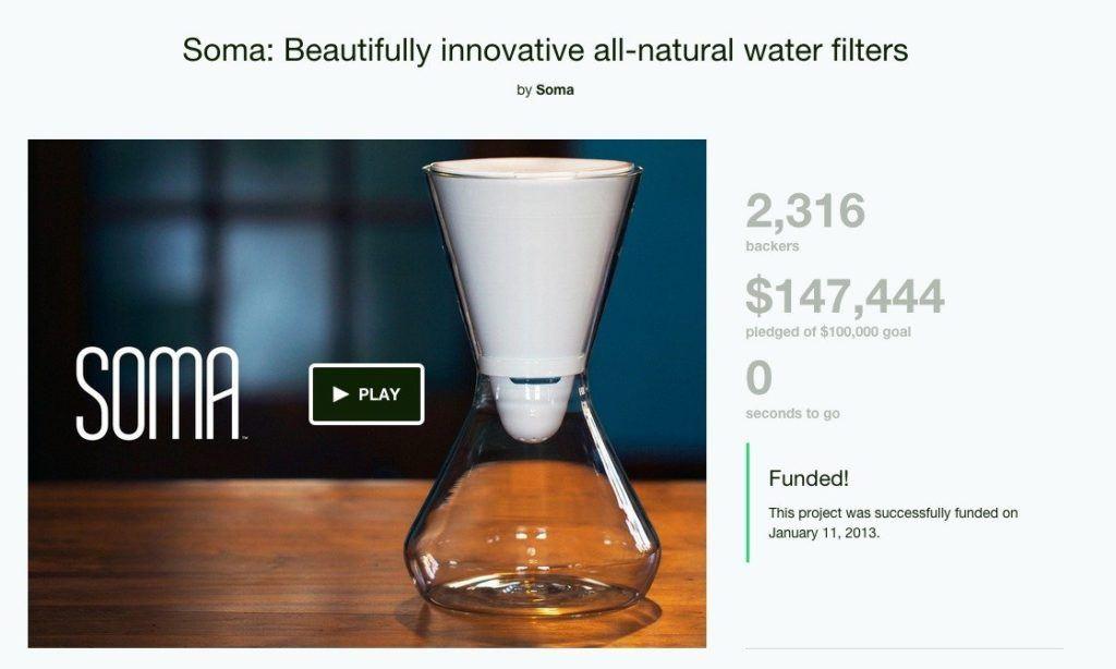 Soma kickstarter