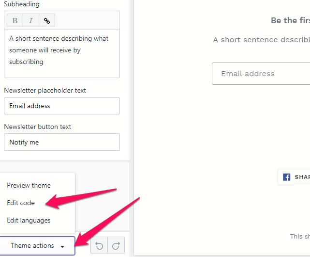 """Click """"Edit Code"""""""
