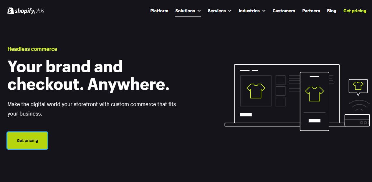 shopify plus - Shopify Headless Commerce
