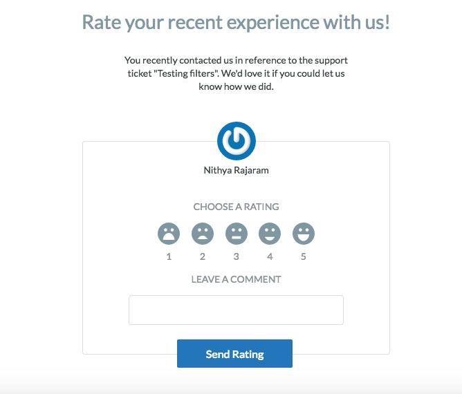 email inviting customer feedback