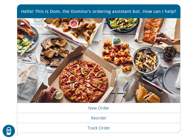 Domino's ordering assistant bot
