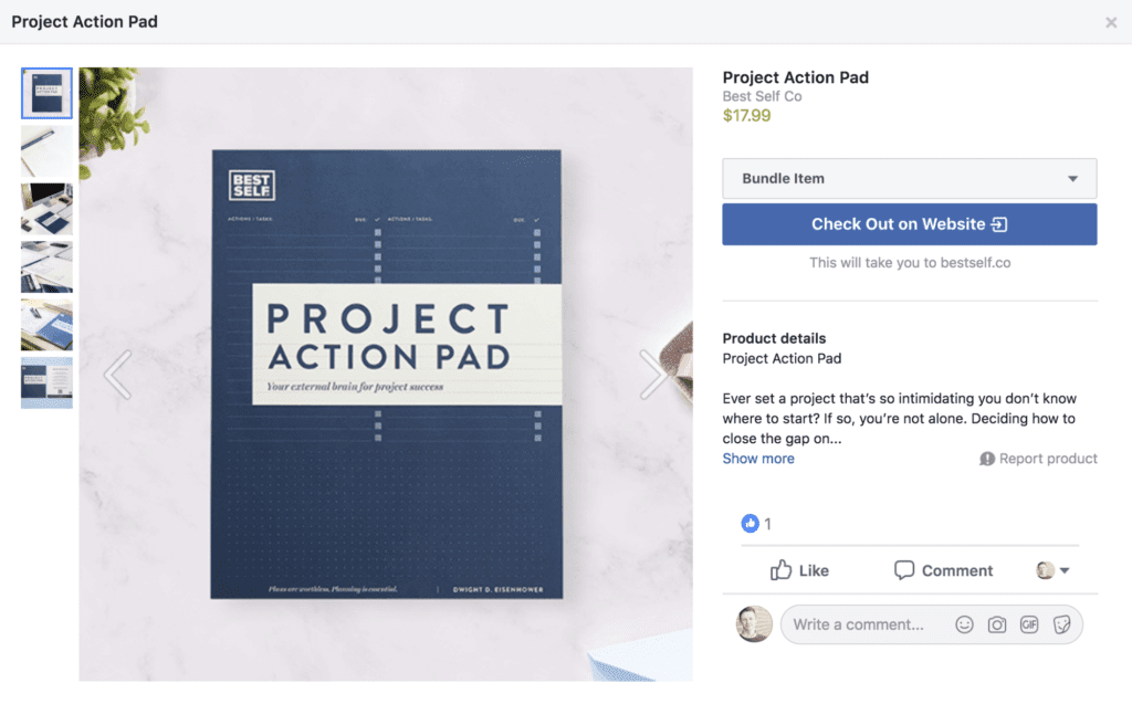 Best Self Project Action Pad featured image
