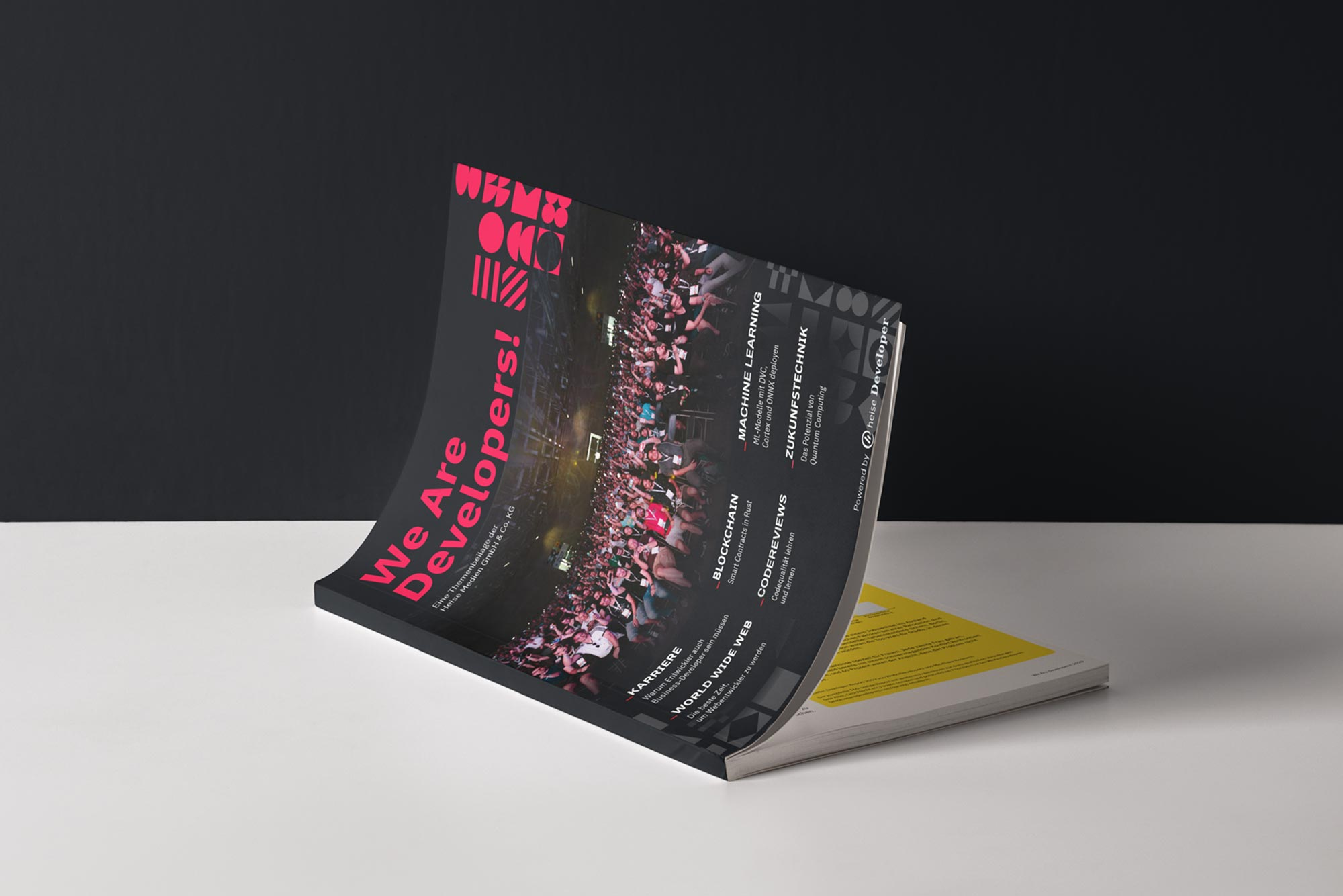 """The first edition of the """"We Are Developers!"""" print magazine"""