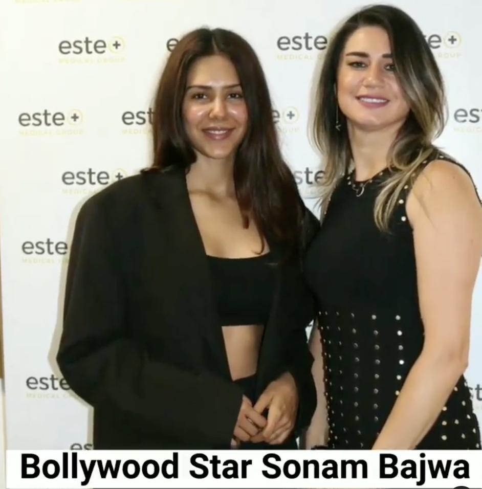Actress Sonam Bajwa Trusts Este