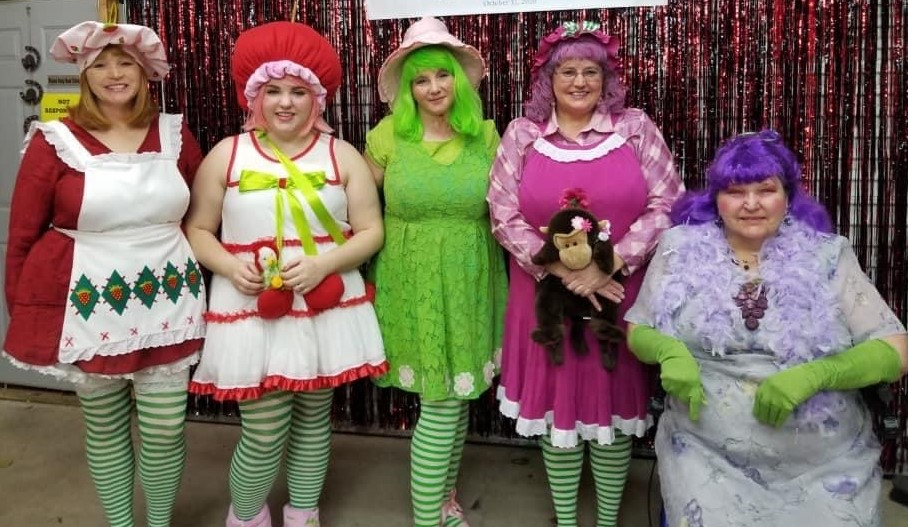 Strawberry Shortcake and Friends:  This is a tradition for me, my sisters, my daughter, and even brought Mom in on the fun this year.