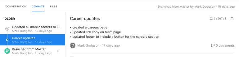 Career updates