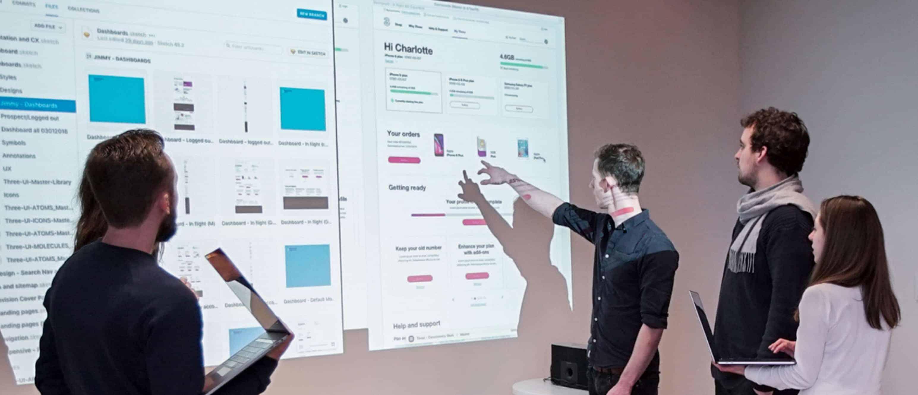 The BIO Agency design team collaboration