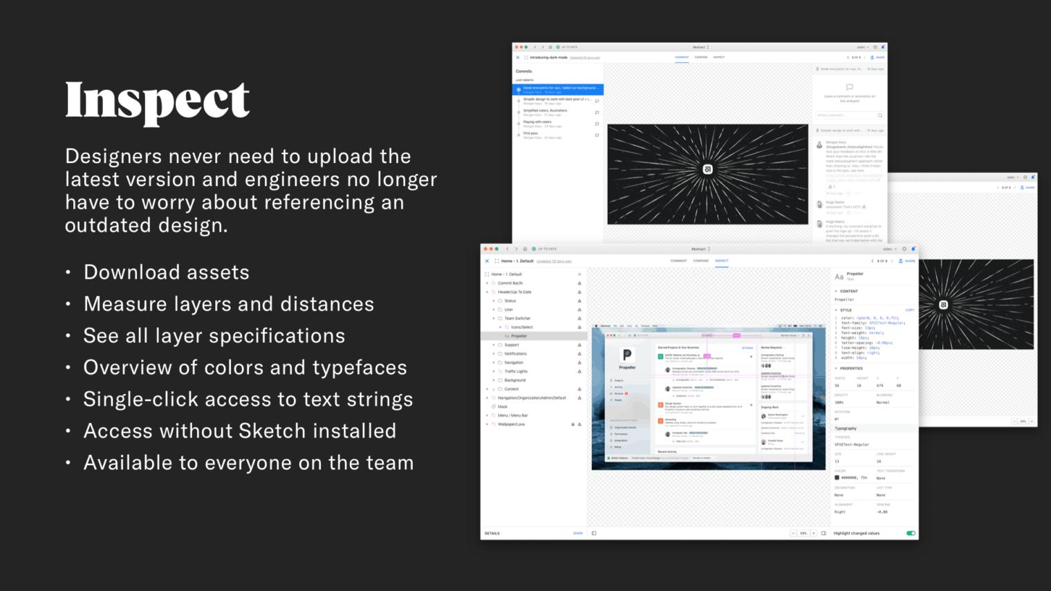 Design & Developer Handoff in Abstract