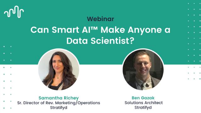 Can Smart AI™ Make Anyone a Data Scientist?