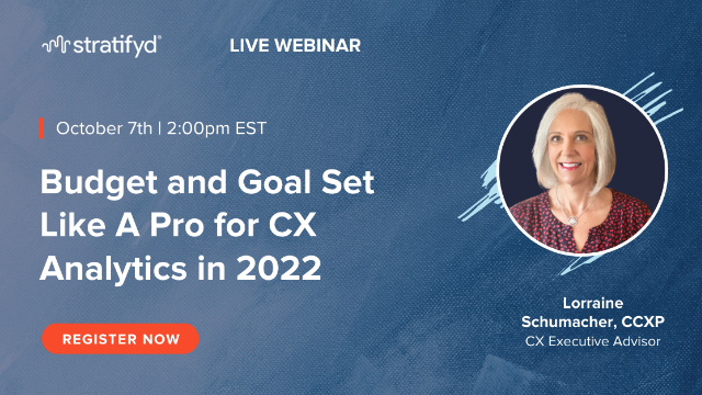 Budget and Goal Set Like A Pro for CX Analytics in 2022