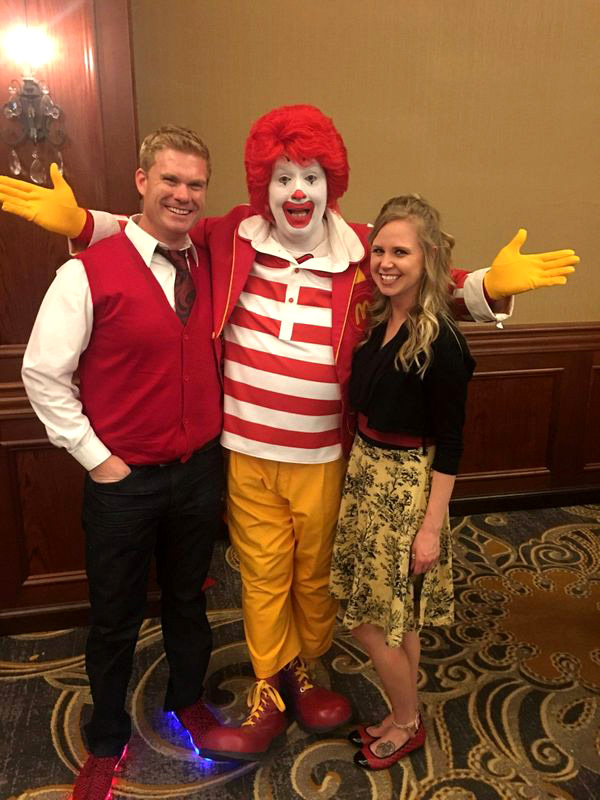 "RMHC ""Red Shoe Shindig"" fundraiser, raising funds for the Sioux City,IA RMHC. December 2017"