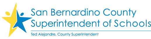 San Bernardino County Superintendent of Schools logo