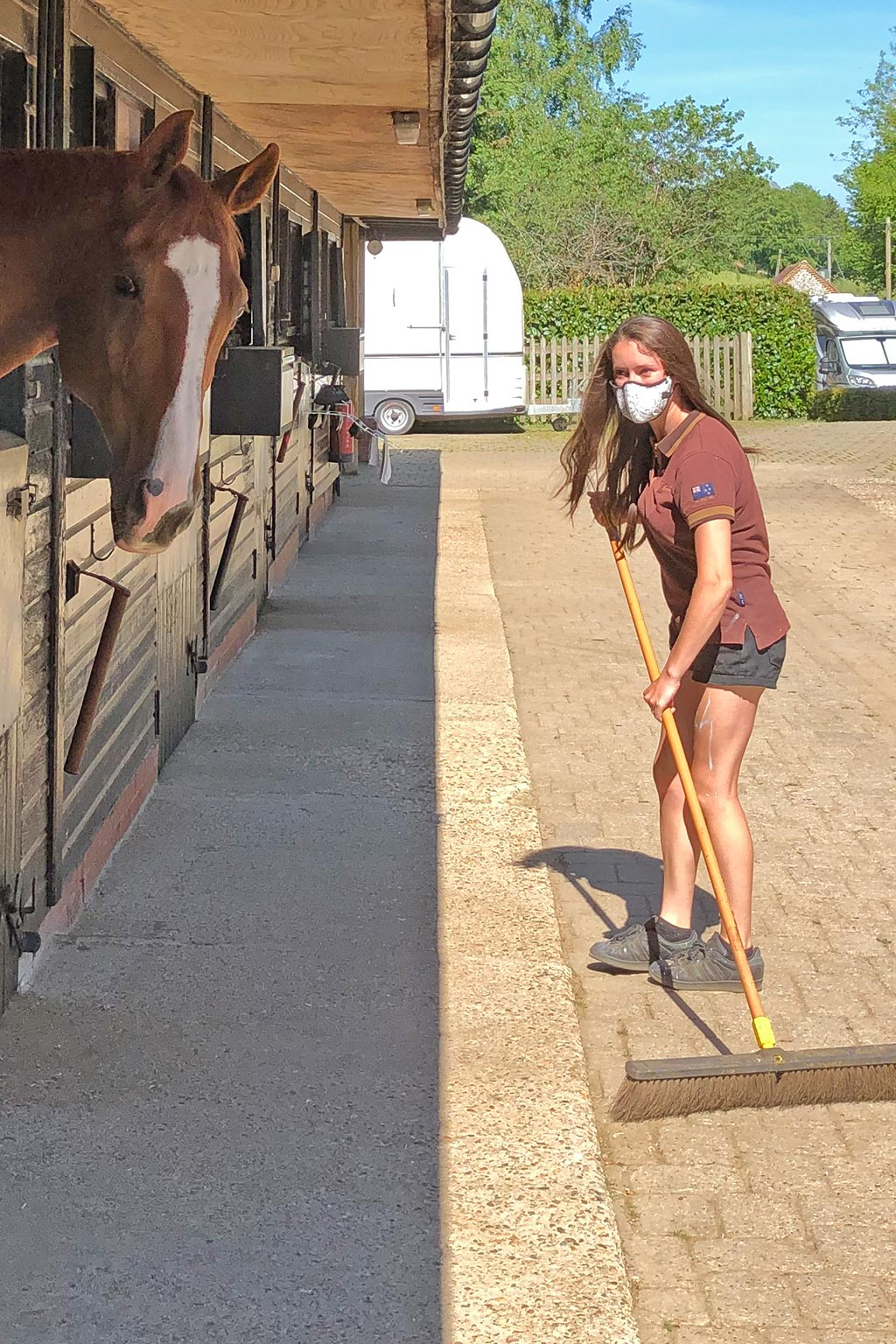Sweeping stables